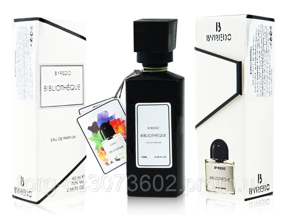 Мини-парфюм женский 60 мл. Byredo Biblioteque