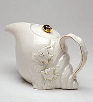 """Фарфоровый заварочный чайник """"Морская ракушка"""" (Pavone)"""