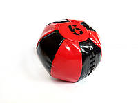 Медбол 6 кг черно-красный