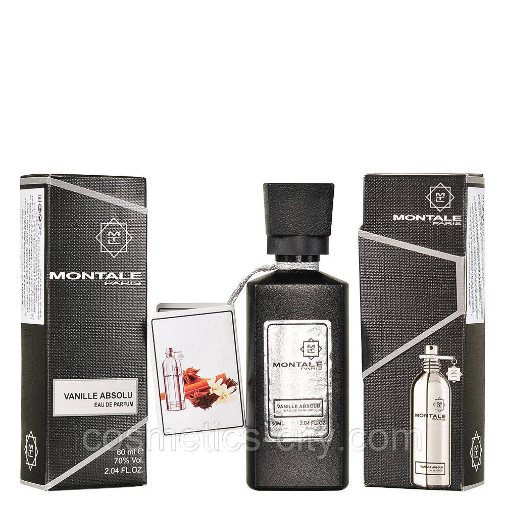 Мини-парфюм женский 60 мл. Montale Vanille absolu