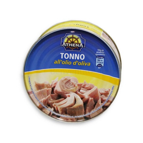 Тунец в масле Athena Tonno all olio di oliva 80 г (Италия)