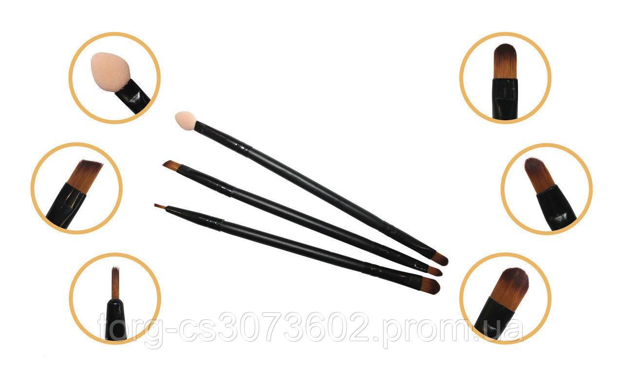 Набор кистей для макияжа Aise Line (3 штуки), SB1302