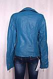 Женская куртка из заменителя, фото 2