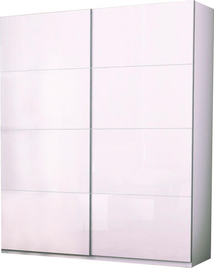 Шкаф-купе 2,5 м Белла глянец белый ТМ Миро Марк