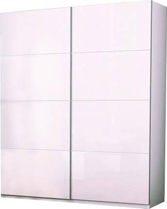 Шкаф-купе 2,5 м Белла глянец белый ТМ Миро Марк, фото 2