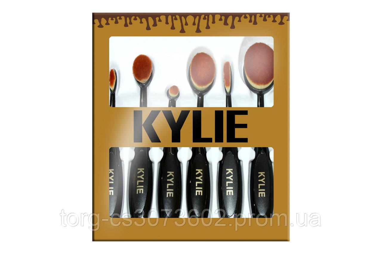 Набор кистей-щеток Kylie (6 штук)