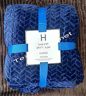 Простынь Luxe Soft 200*230 синий