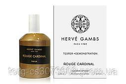 Тестер Herve Gambs Paris Rouge Cardinal, 100 мл