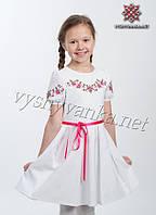 Вишите літнє плаття (вишиванка) на дівчинку, арт. 4306