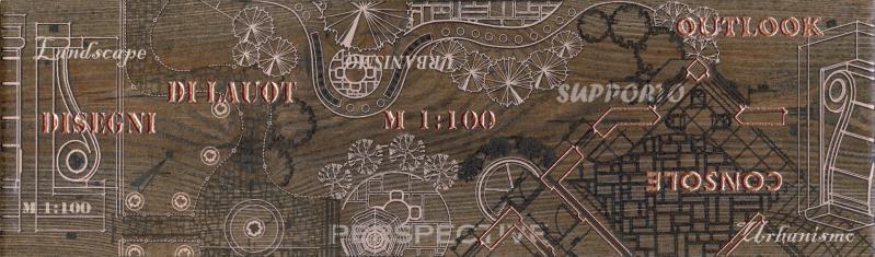 PANTAL Фриз напольный красно-коричневый/БН 85 022-1