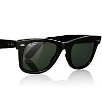 Очки RAY BAN RB 2140 AAA Wayfarer стекло комплект, солнцезащитные копия, фото 1