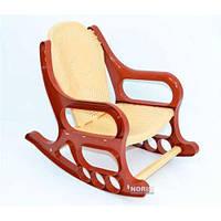 Кресло-качалка детское K-PLAST (48901) Коричневое