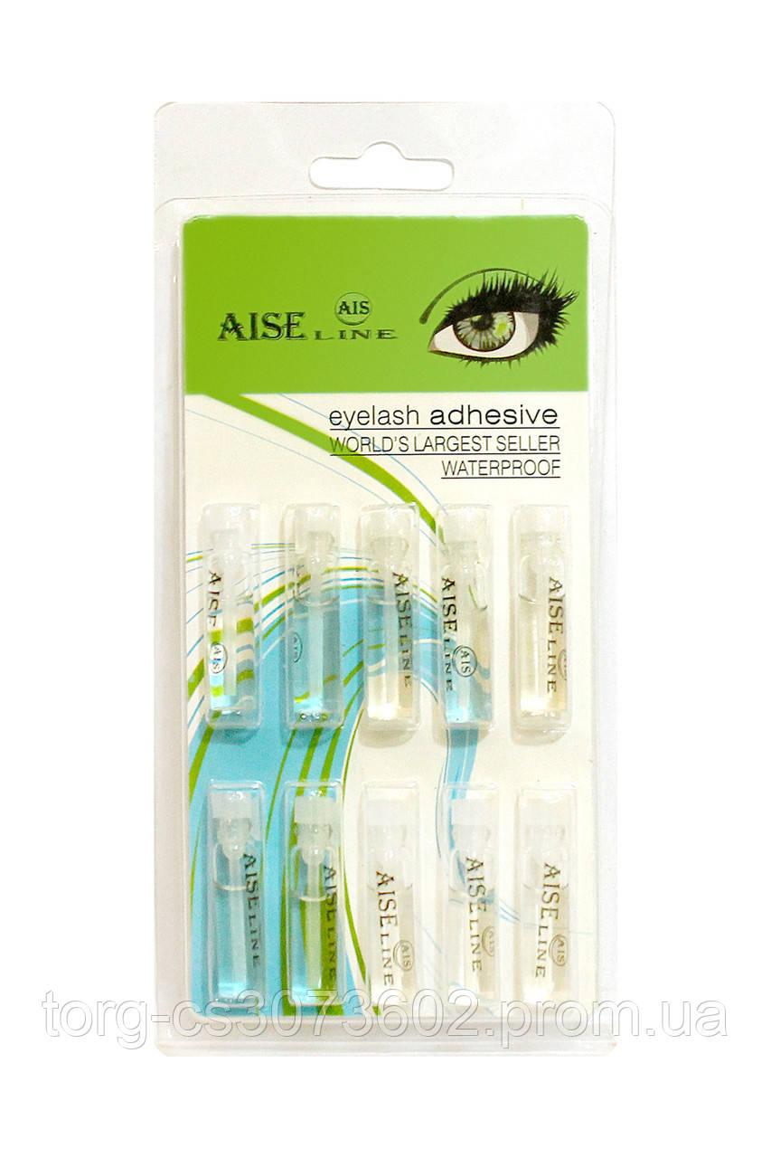 Клей для накладных ресниц прозрачный Aise Line KH-020