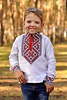 Вышиванка детская для мальчика с длинным рукавом