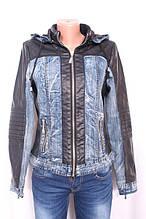 Куртка жіноча з еко-шкіри