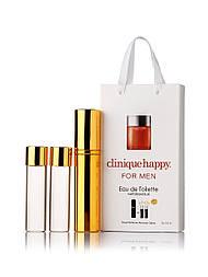 Мини-парфюм мужской Clinique Happy for men, 3х15 мл