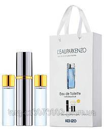 Мини-парфюм мужской Kenzo Leau Kenzo pour homme, 3х15 мл