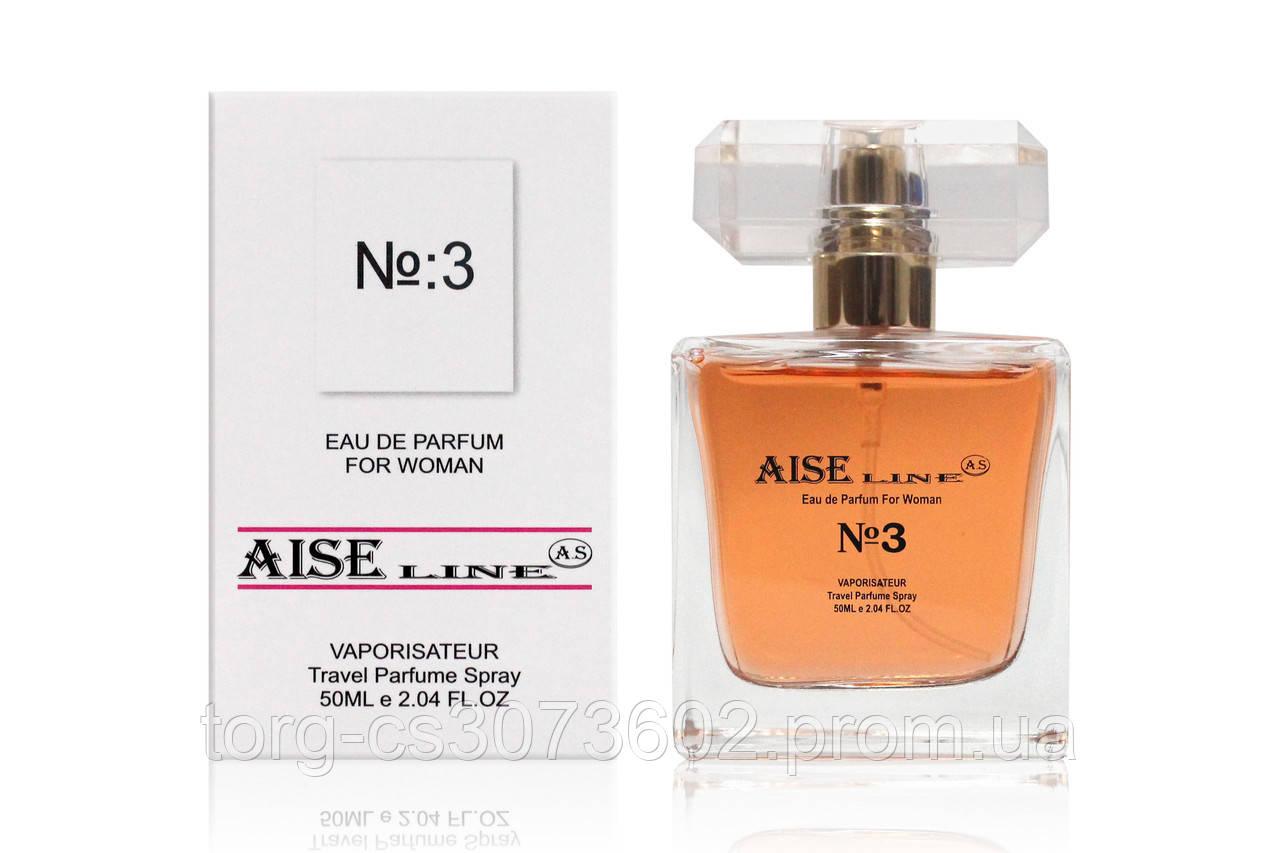 """Парфюмированный спрей Aise Line """"№3"""" (аналог D&G Imperatrice), 50 мл."""