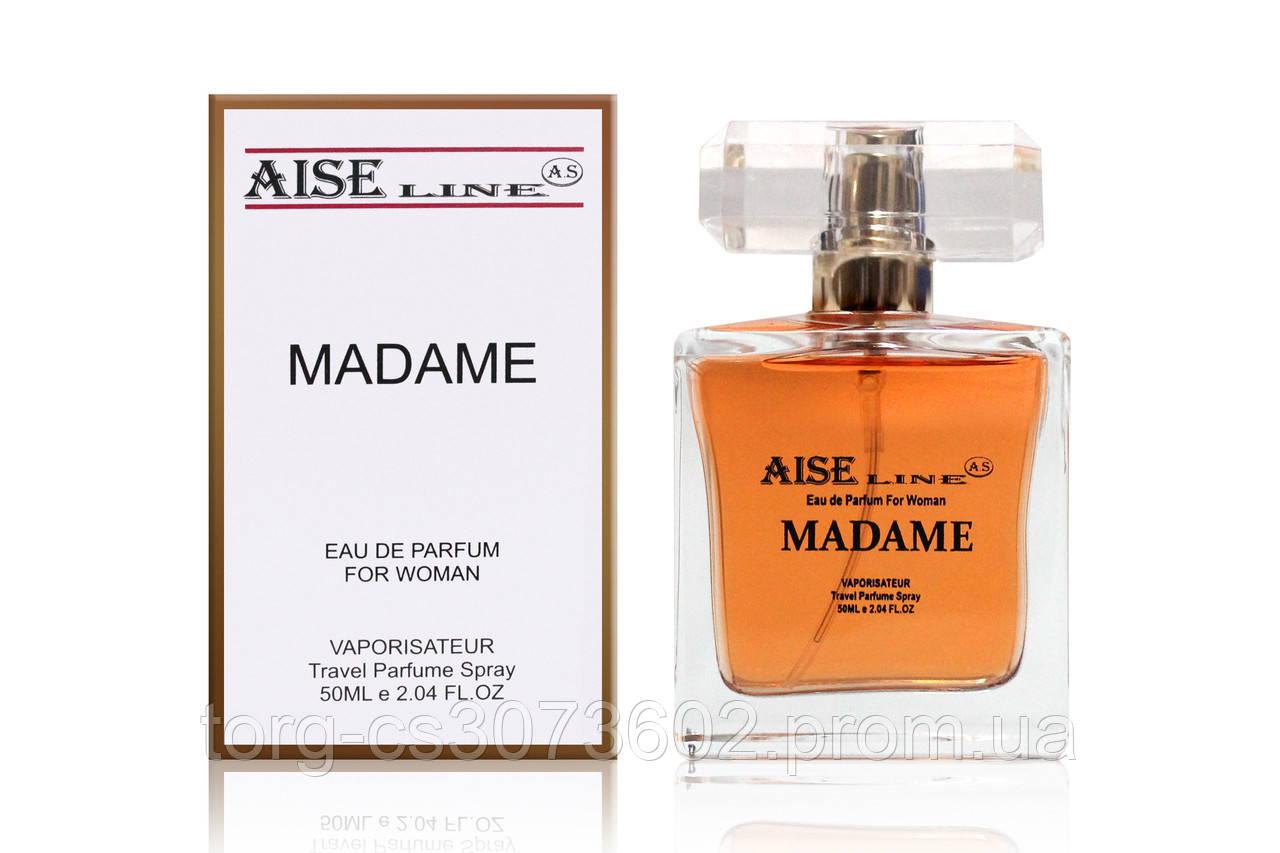 "Парфумований спрей Aise Line ""Madame"" (аналог Chanel Coco Modemoiselle), 50 мл"