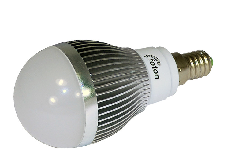 Светодиодная лампа E14, 220V 3x1W Bulb