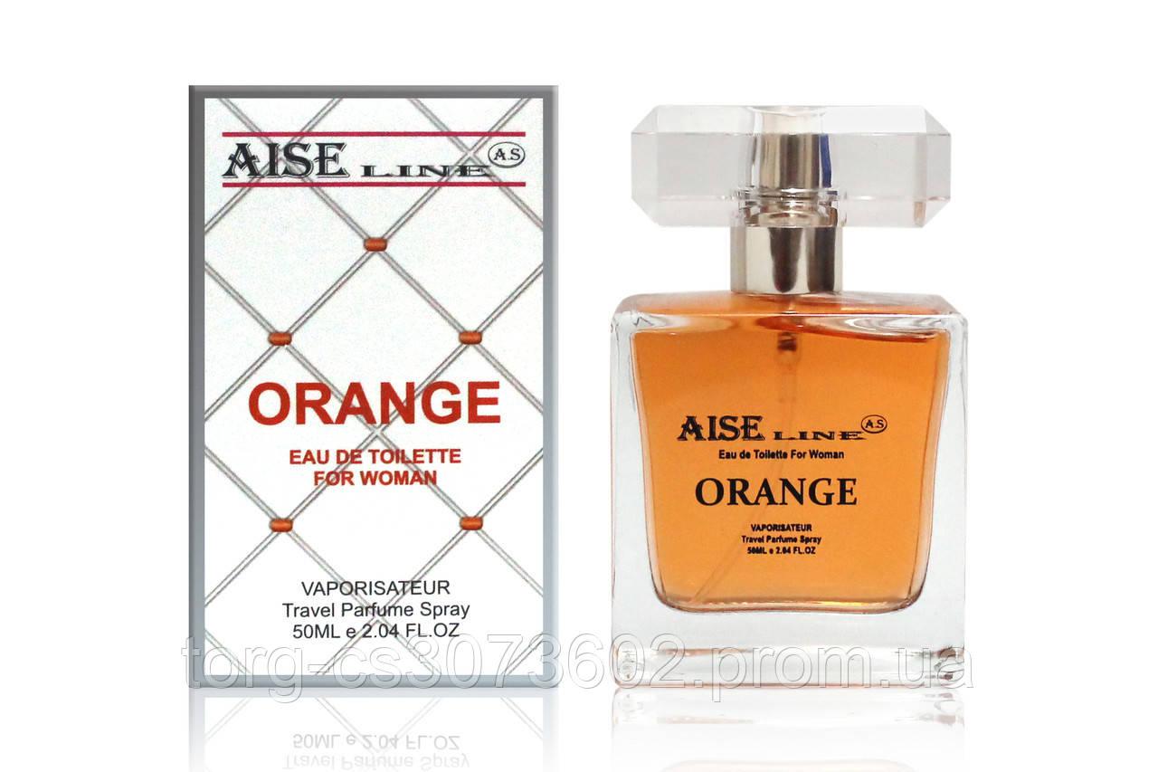 "Парфумований спрей Aise Line ""Orange"" (аналог Hugo Boss Orange), 50 мл"