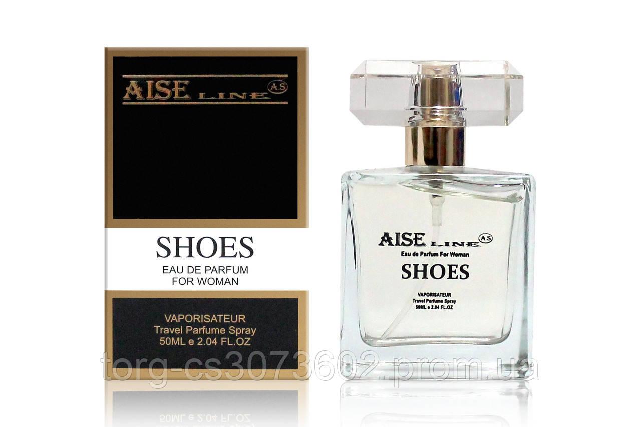 "Парфюмированный спрей Aise Line ""Shoes"" (аналог Carolina Herrera Good girl), 50 мл. (Без слюды)"
