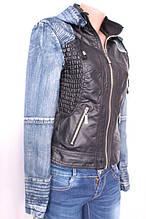 Куртка жіноча з шкір-заступника