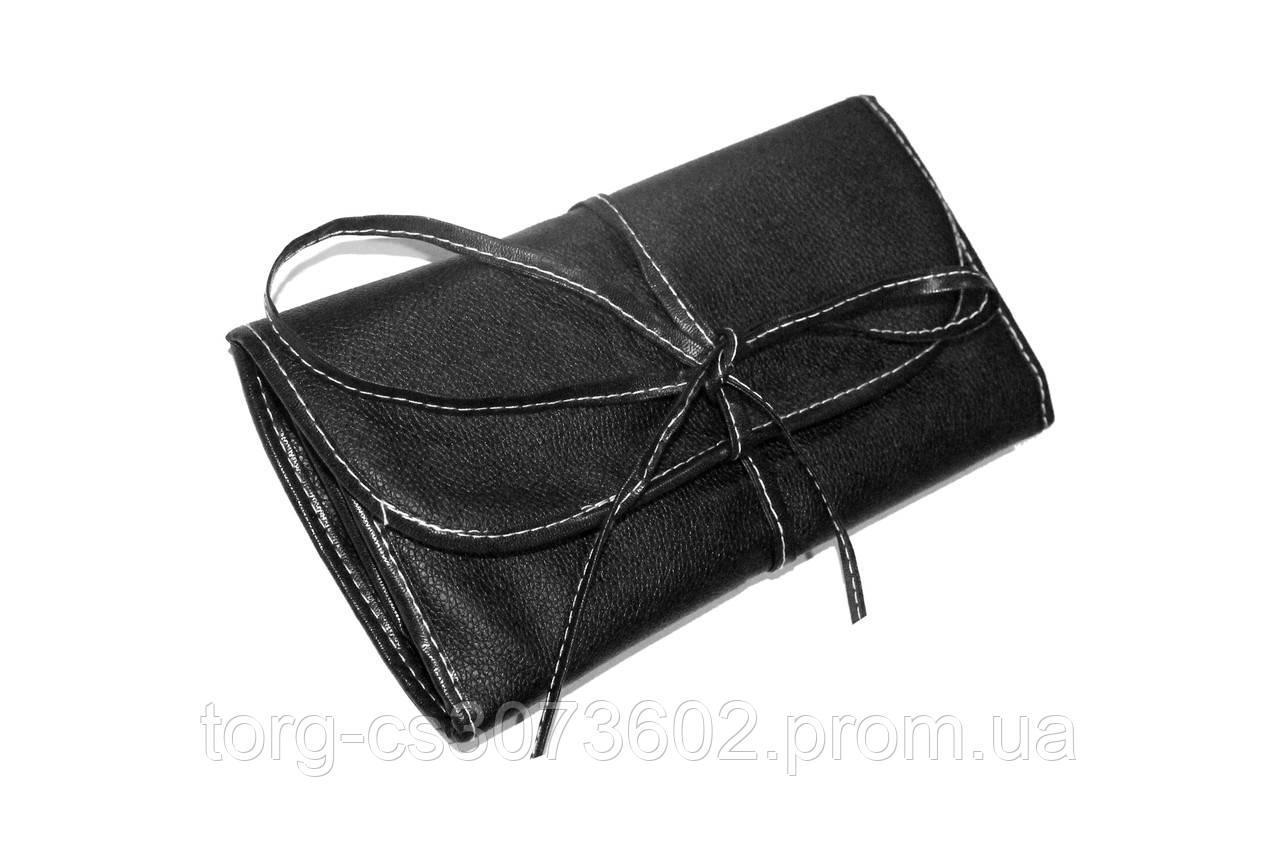 Набір кистей для макіяжу Parisa, 18 штук (чорний)