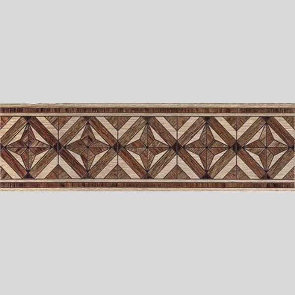 MASSIMA Бордюр напольный коричневый/БН 57 031