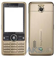 Корпус Sony Ericsson G700 с клавиатурой Bronze
