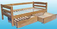 Кровать ИРКА бук, фото 1