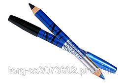 Двусторонний карандаш-тени для глаз MILAI MI double colour