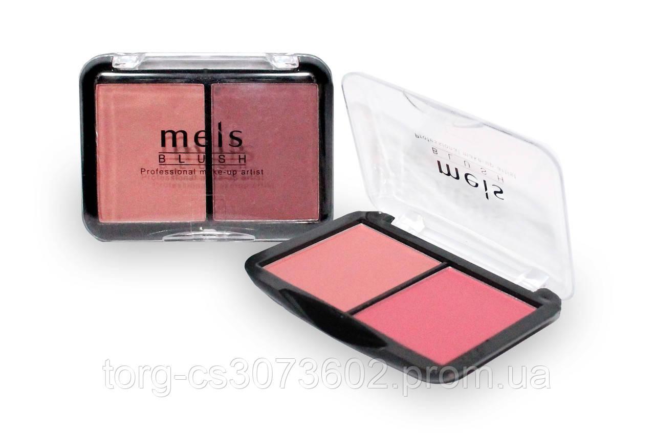 Двойные компактные румяна Meis professional make-up artist MS0238