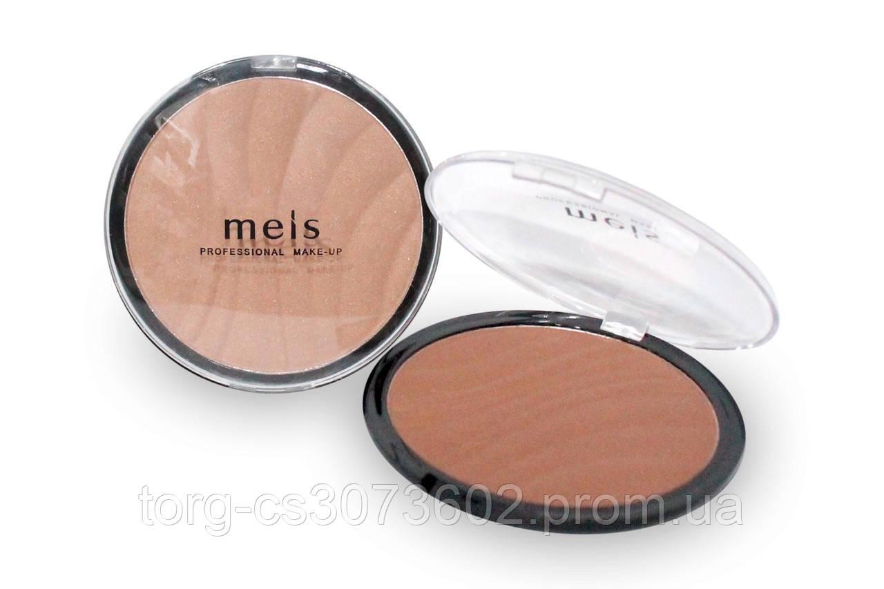 Компактная пудра - хайлайтер Meis MS0144
