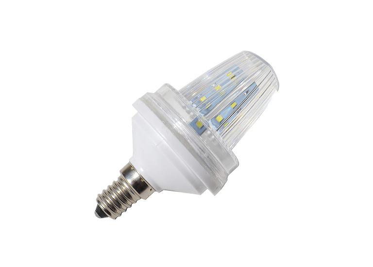Аварийная светодиодная лампа E14, 220V 1,5W Strobe