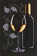 """Набор для вышивания крестиком (натюрморт) """"Бокал вина"""""""
