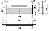 Дзеркало Laufen Alessi One 120 см H4484310972001, фото 2