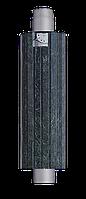 Дымоход- конвектор в камне змеевик. Стартовый дымоход Ферингер в камне.