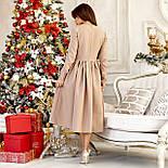 Женское платье из габардина №532, фото 2