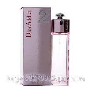 Christian Dior Addict 2, женская туалетная вода, 100 мл.