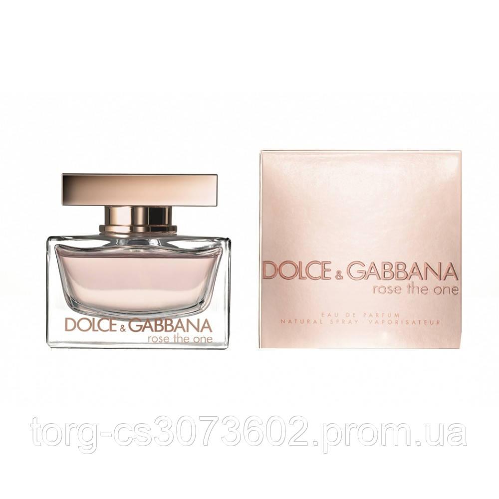 Dolce&Gabbana Rose the one женская парфюмированная вода 75 мл.(примятая упаковка)