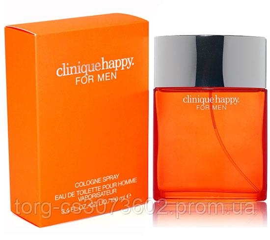 Clinique Happy For Men, мужская туалетная вода 100 мл. (без слюды)