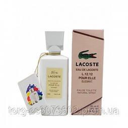 Мини-парфюм женский60 мл. Lacoste L.12.12 pour elle Ellegant