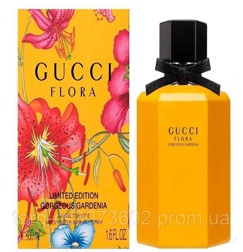 Gucci Flora Gorgeous Gardenia Limited Edition (желтая), женская парфюмированная вода 100 мл.