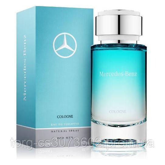 Mercedes - Benz cologne eau de toilette, мужская туалетная вода 120 мл.