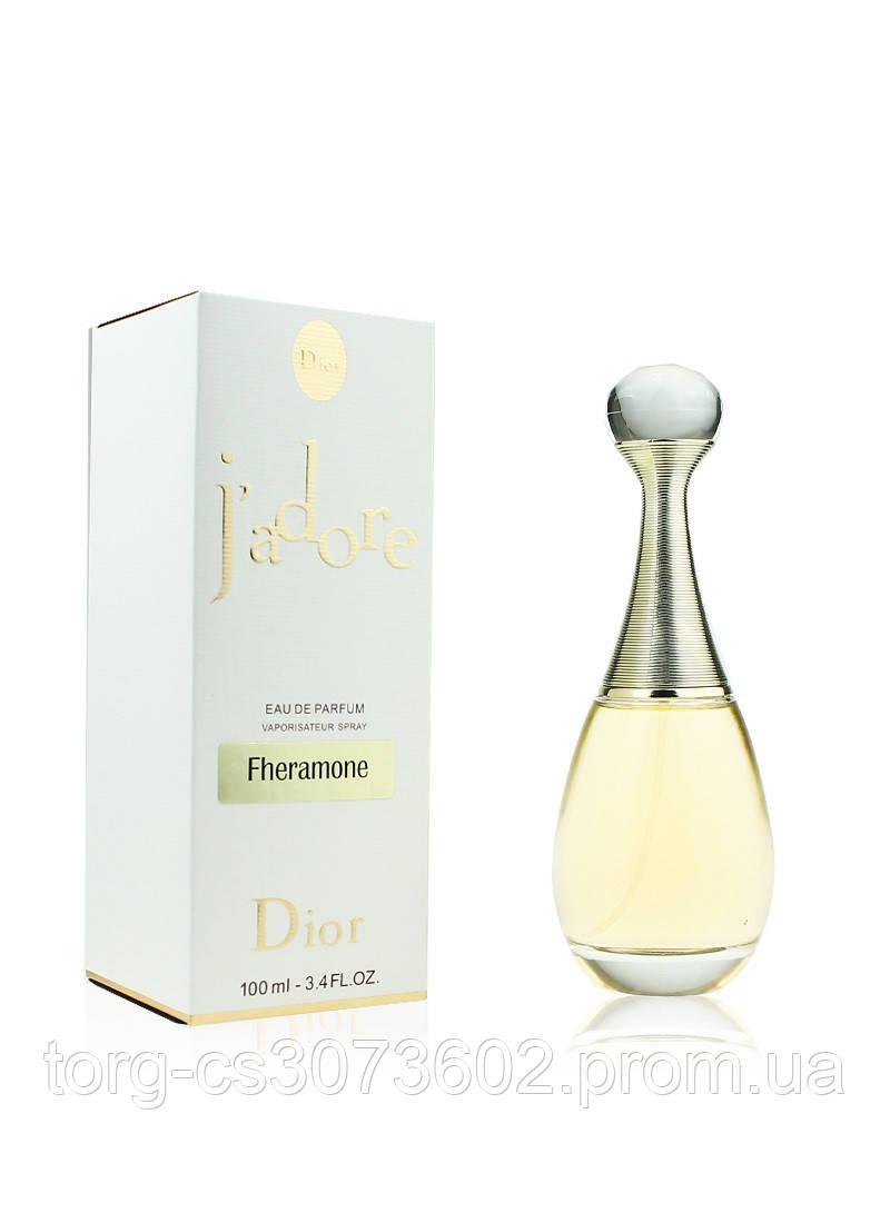 Christian Dior Jadore Fheramone, женская парфюмированная вода, 100 мл.