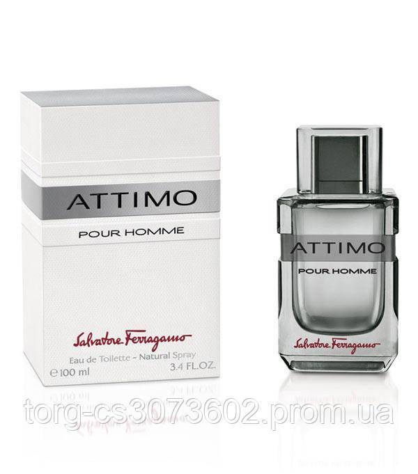 Salvatore Ferragamo Attimo pour homme, мужская туалетная вода 100 мл.