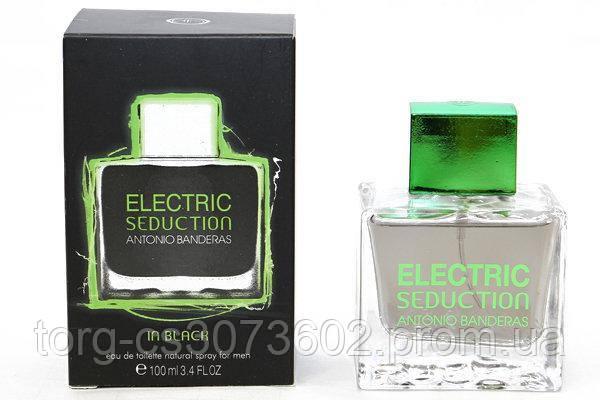 Antonio Banderas Electric Seduction in Black, мужская туалетная вода 100 мл.