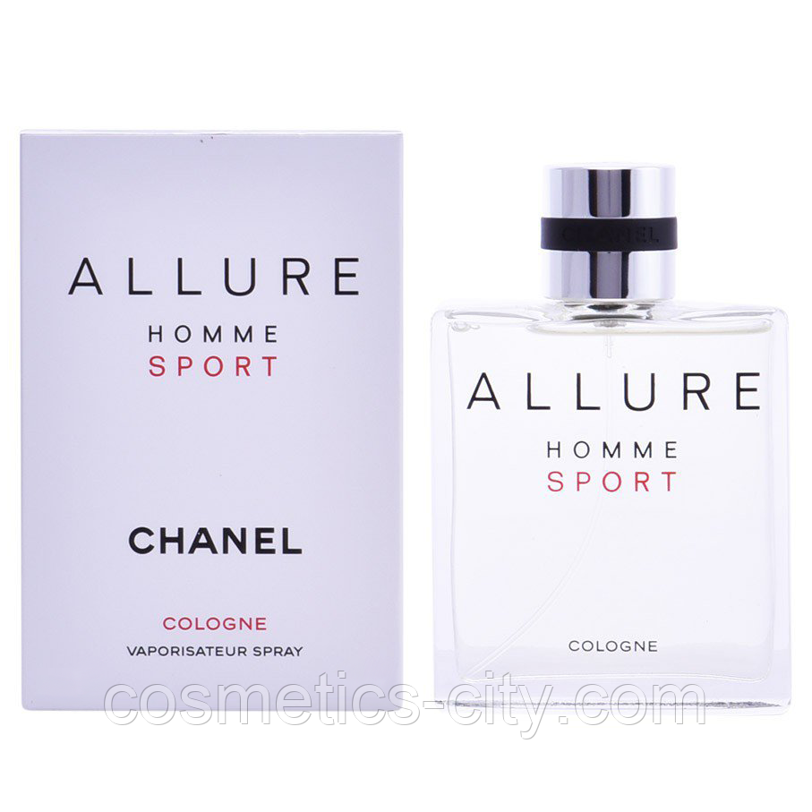 Chanel Allure homme sport cologne, мужская туалетная вoда 100 ml