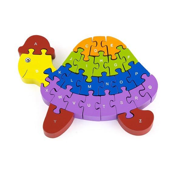 """Пазл""""Черепаха"""" Viga Toys 55250, фото 1"""